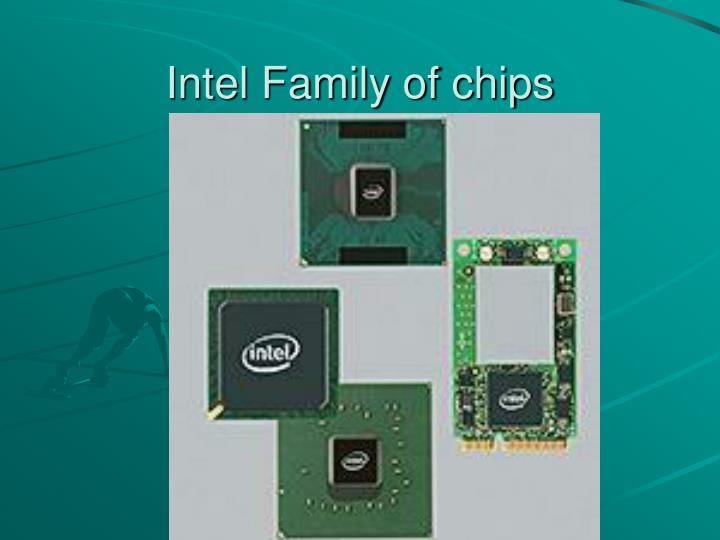 Intel Family of chips