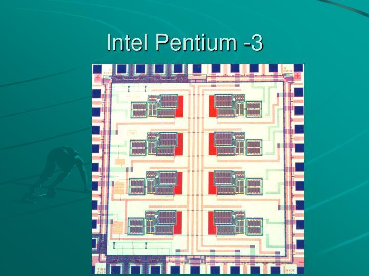 Intel Pentium -3