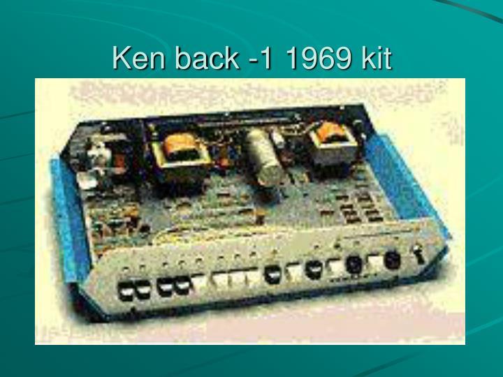 Ken back -1 1969 kit