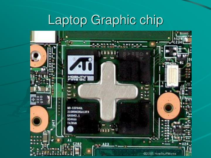 Laptop Graphic chip