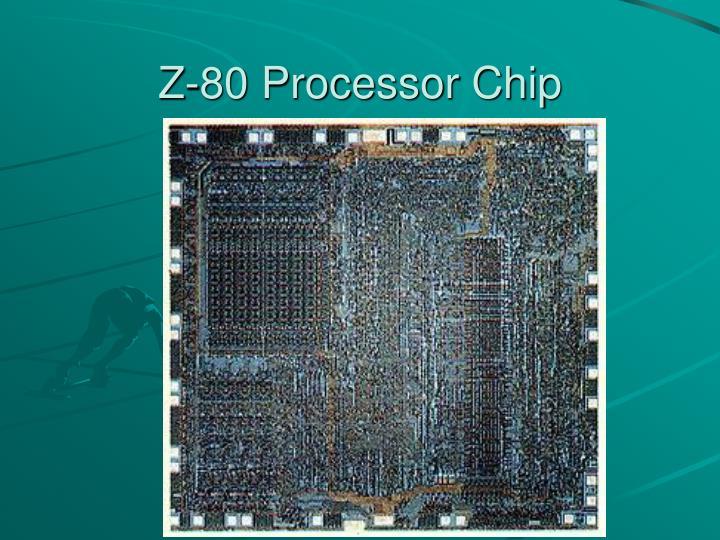 Z-80 Processor Chip