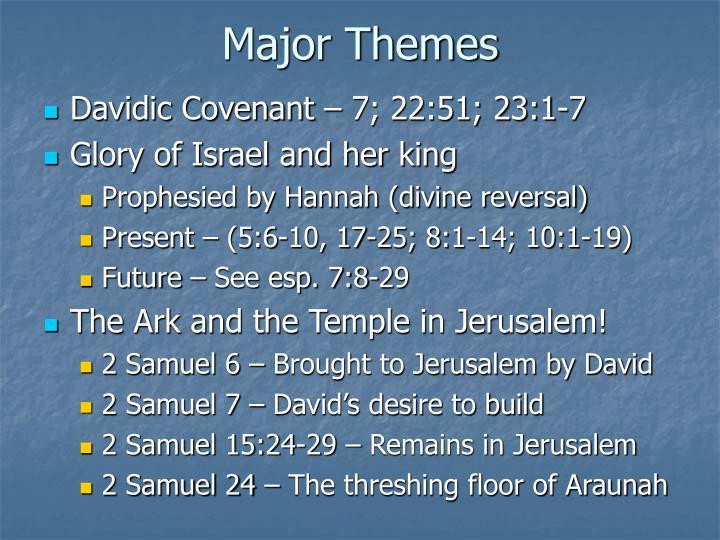 Major Themes