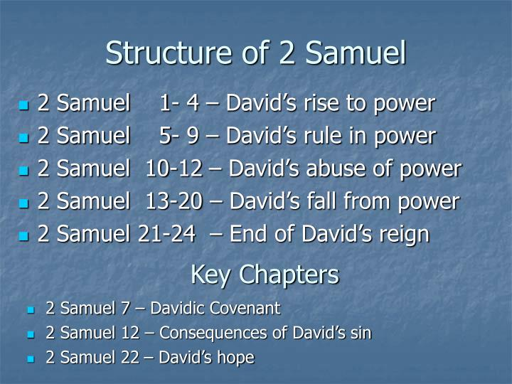 Structure of 2 Samuel