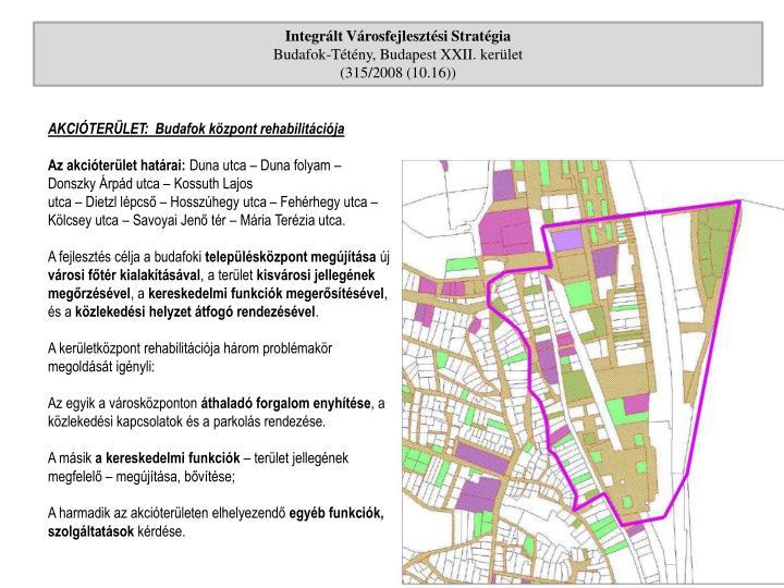 Integrált Városfejlesztési Stratégia