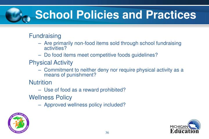 School Policies and Practices
