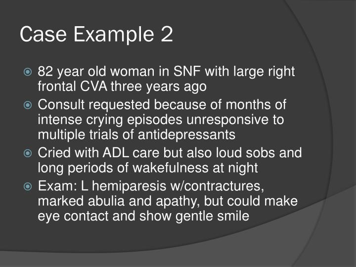 Case Example 2