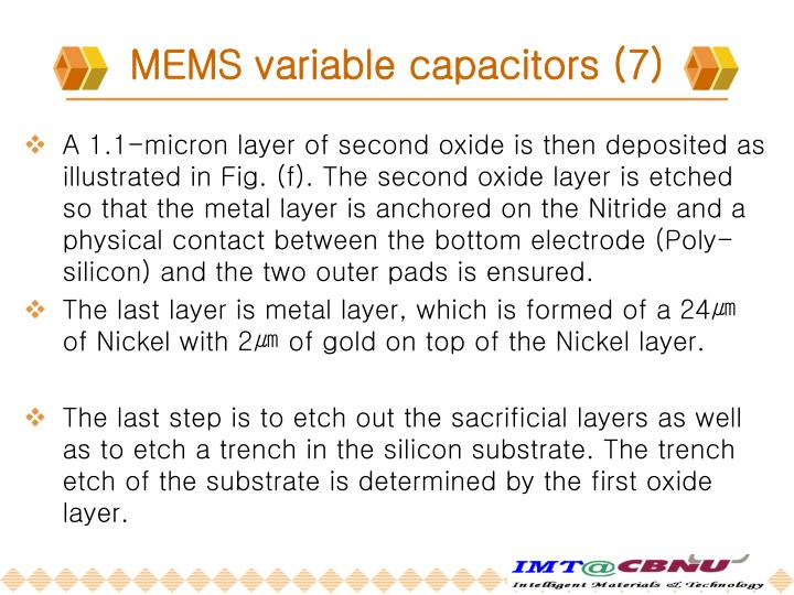 MEMS variable capacitors (7)