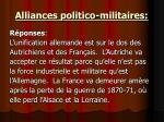 alliances politico militaires1