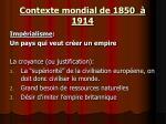 contexte mondial de 1850 19146