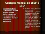 contexte mondial de 1850 19148