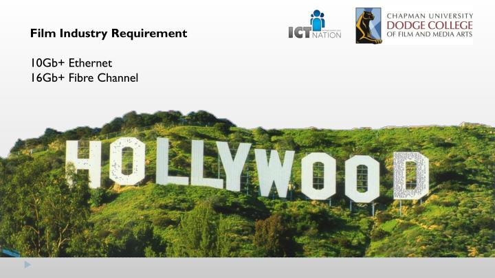 Film Industry Requirement