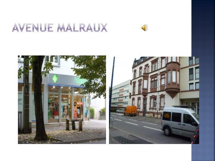 Avenue Malraux