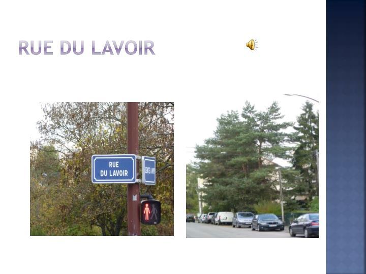 Rue du lavoir