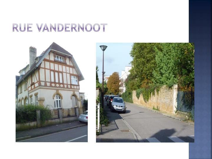 Rue Vandernoot