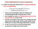 four components of paul s doxology3