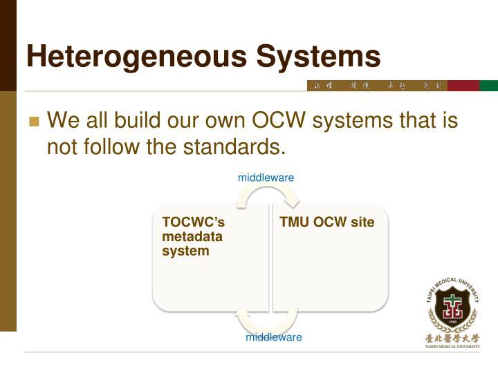 Heterogeneous Systems
