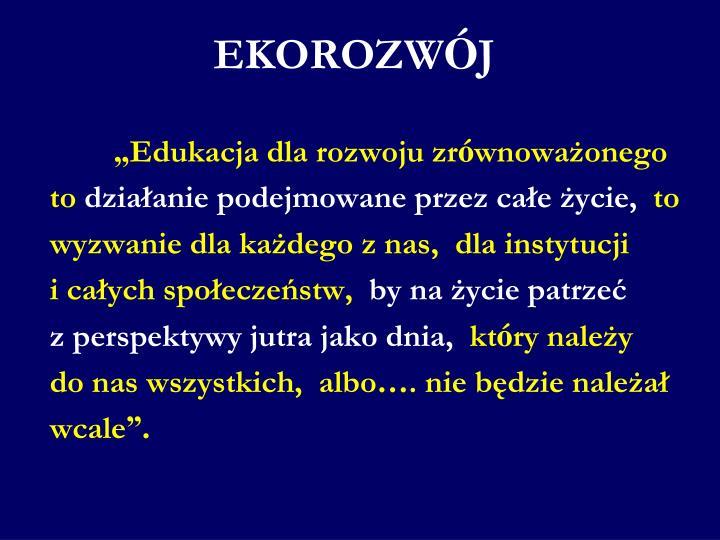 EKOROZW