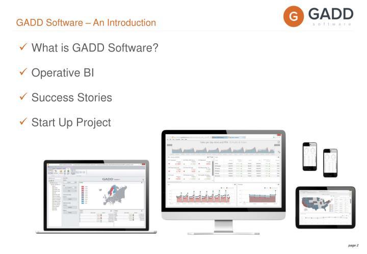 GADD Software – An Introduction