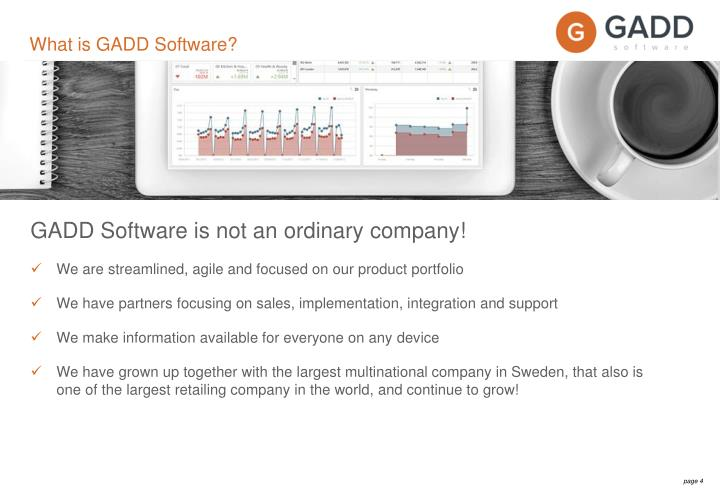 What is GADD Software?