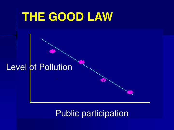 THE GOOD LAW