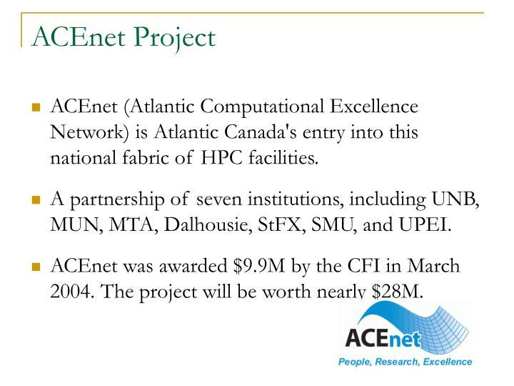 ACEnet Project