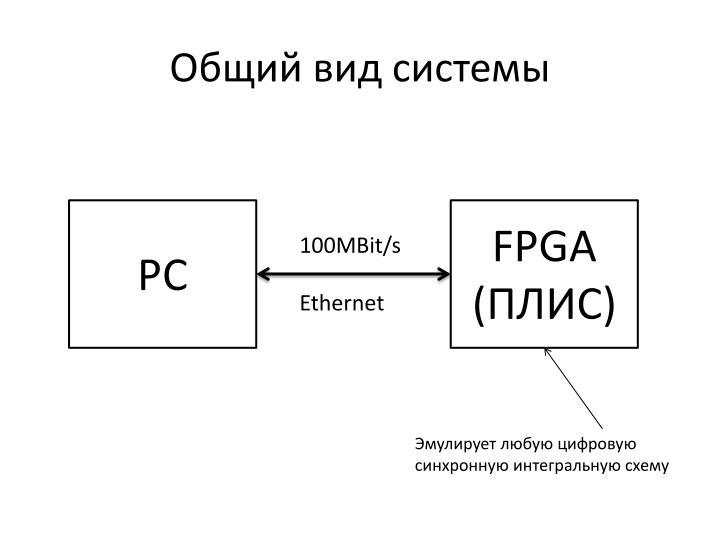 Общий вид системы