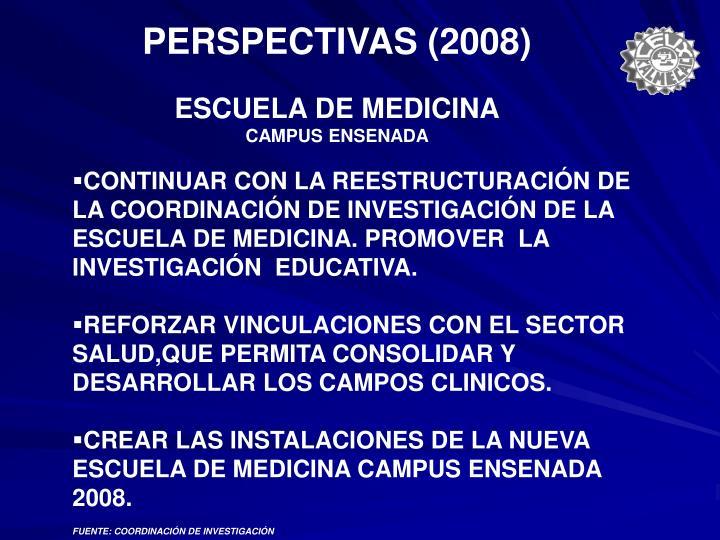 PERSPECTIVAS (2008)