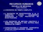 recursos humanos escuela de medicina campus ensenada