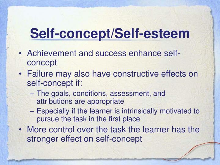 Self-concept/Self-esteem