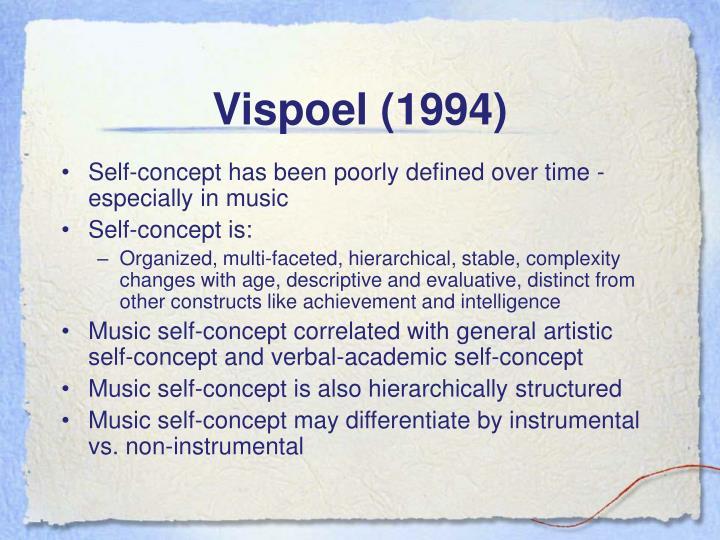 Vispoel (1994)