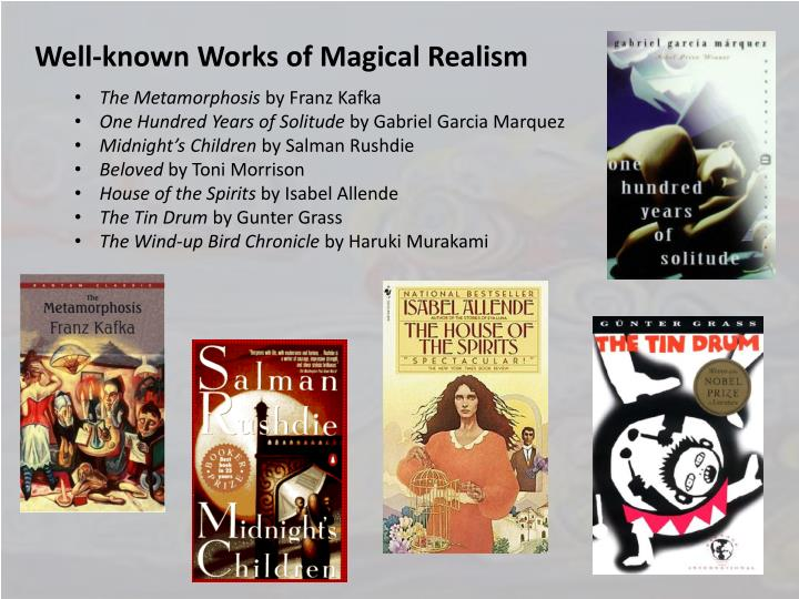 """magical realism in one hundred years Gabriel garcía márquez mr garcía márquez was a master of the literary genre known as magical realism """"one hundred years of solitude."""