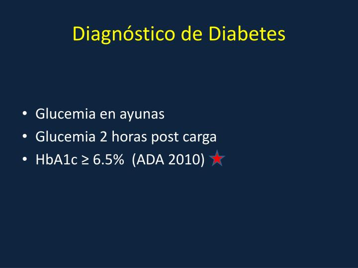 Diagnóstico de Diabetes