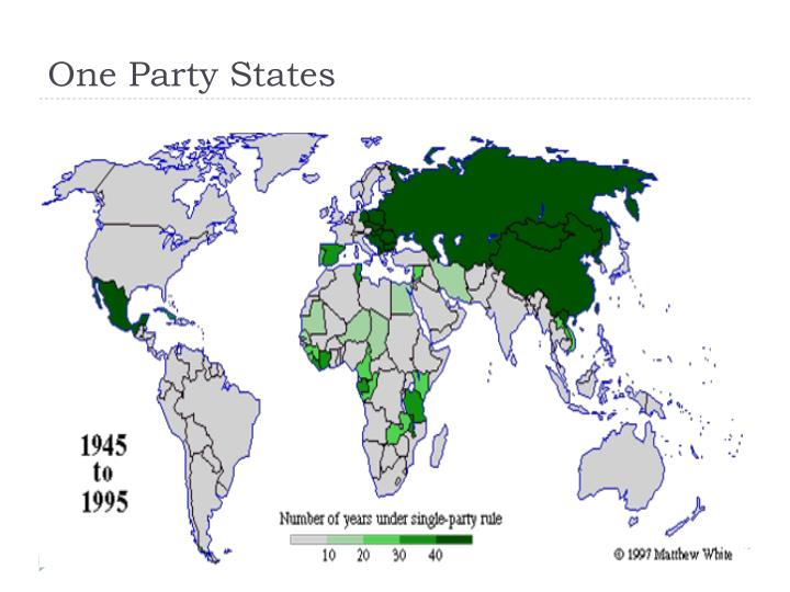 One Party States