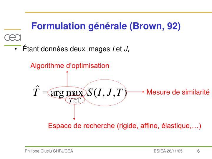 Algorithme d'optimisation