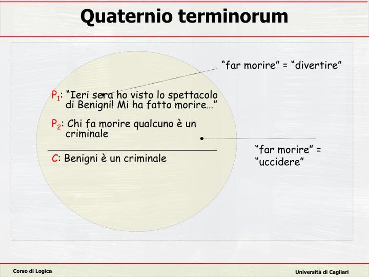 Quaternio terminorum