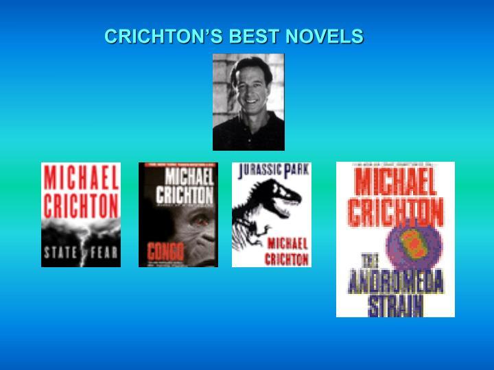 CRICHTON'S BEST NOVELS