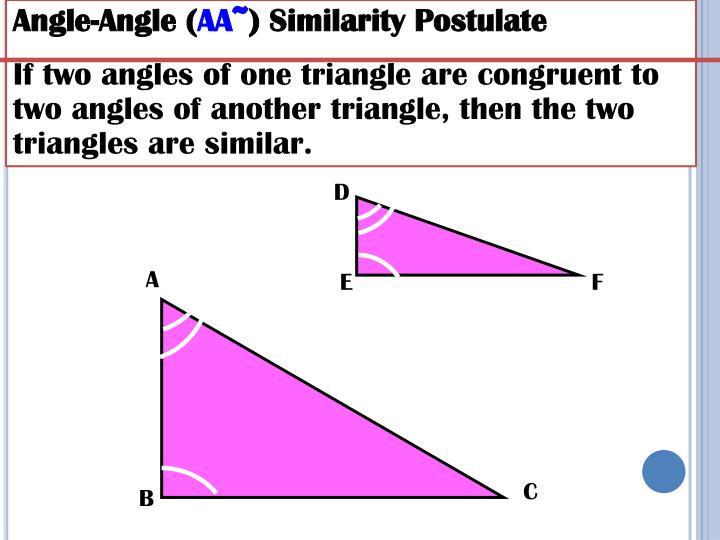 Angle-Angle (