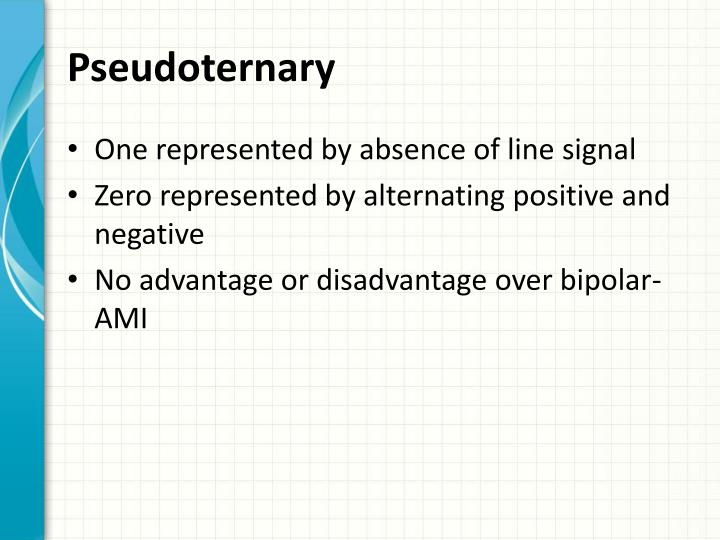 Pseudoternary