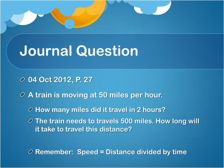Journal question1