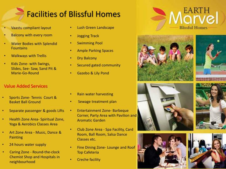 Facilities of Blissful