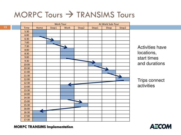 MORPC Tours