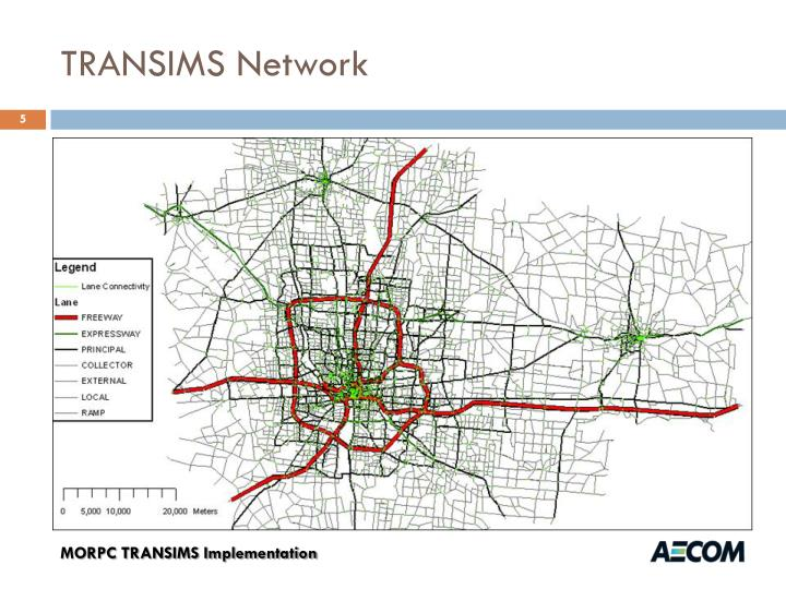 TRANSIMS Network