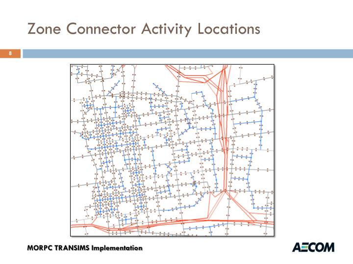 Zone Connector Activity Locations