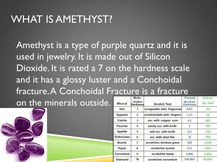 What Is Amethyst?