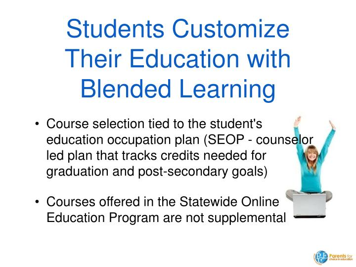 Students Customize Their Education with Blended Learning
