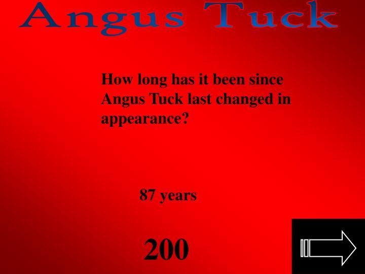 Angus Tuck