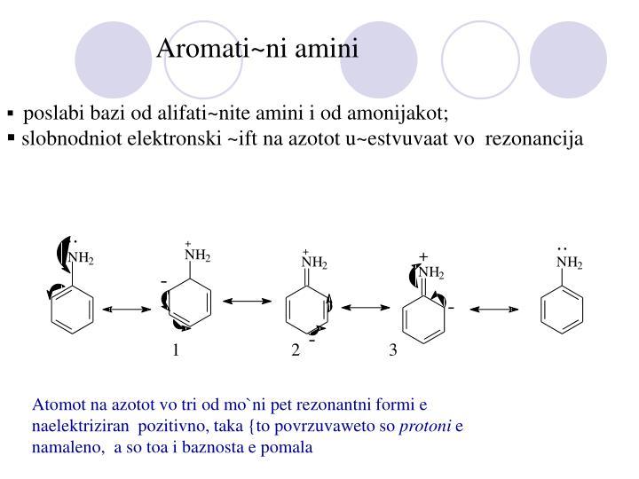 Aromati~ni amini