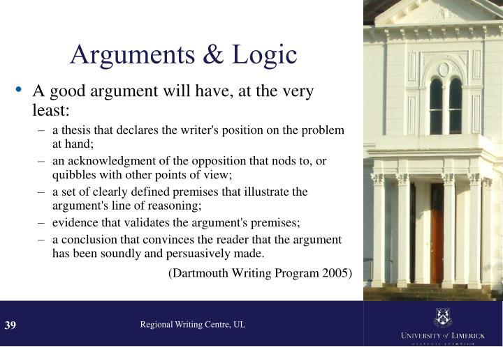 Arguments & Logic