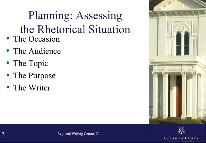 Planning: Assessing