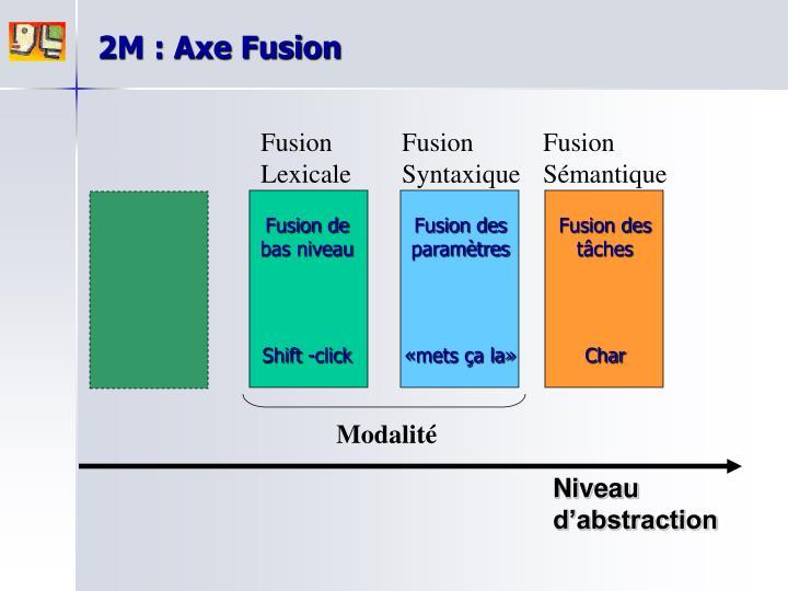 2M : Axe Fusion